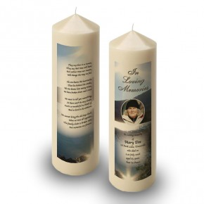 Andes Mountains South America Candle