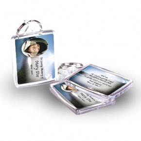 Andes Mountains South America Keyring
