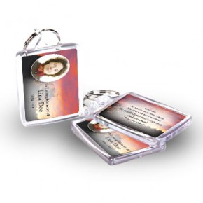 Red Sky At Night Co Meath Keyring