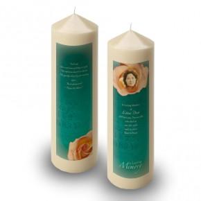 Epitaph Rose Candle