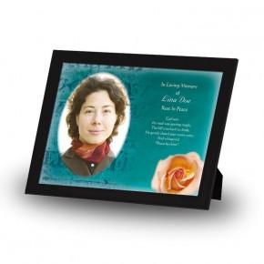 Epitaph Rose Framed Memory