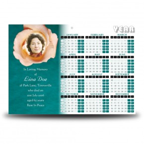 Epitaph Rose Calendar Single Page