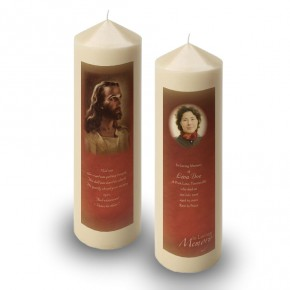 Image of Jesus Christ Candle