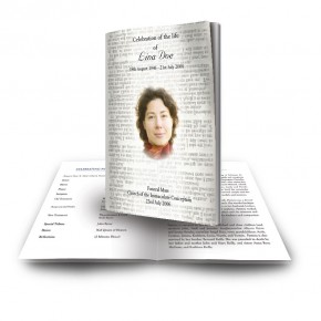 Holy Bible Funeral Book