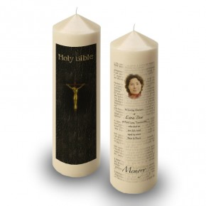 Holy Bible Candle