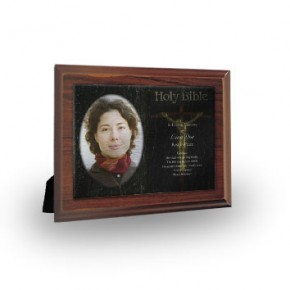 Holy Bible Plaque