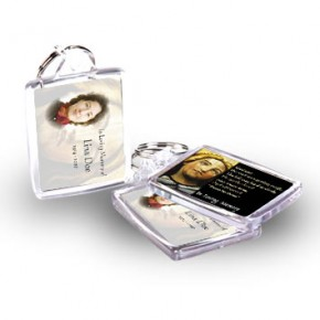 Virgin Mary Keyring