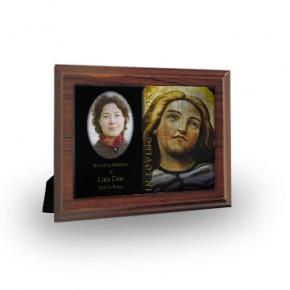 Virgin Mary Plaque