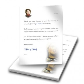 Virgin Mary Thank You Letter