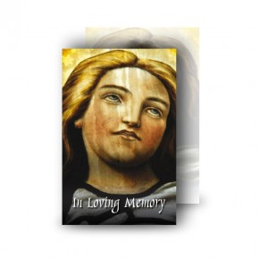 Virgin Mary Wallet Card