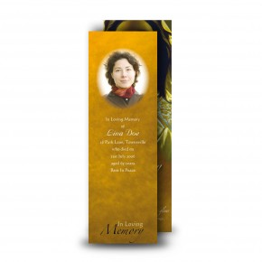 Our Lady At Prayer Bookmarker