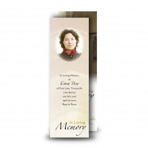 A Place of Peace Bookmarker