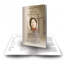 A Place of Peace Funeral Book