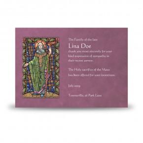 St Brigid Acknowledgement Card
