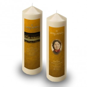Last Supper Da VInci Candle