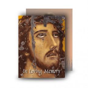 Crown of Thorns Standard Memorial Card