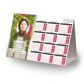 Spring Flowers Calendar Tent