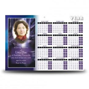 Waterfall South of Ireland Calendar Single Page