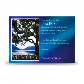 Lakeside Tree Acknowledgement Card