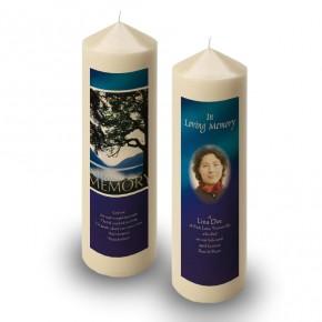 Lakeside Tree Candle