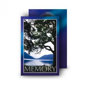 Lakeside Tree Wallet Card