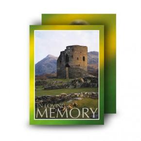 Castle West of Ireland Standard Memorial Card