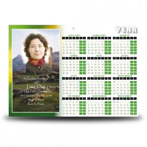 Castle West of Ireland Calendar Single Page