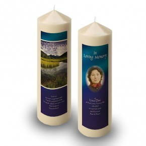 Reflections Co Offaly Candle