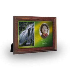 Flowing Cascade Plaque