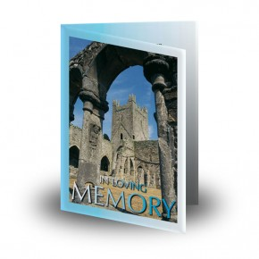 Archway Folded Memorial Card