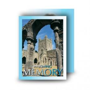 Archway Standard Memorial Card