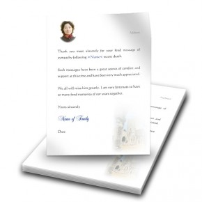 Archway Thank You Letter