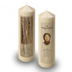 Birches Candle