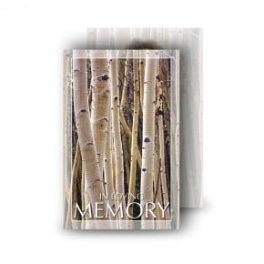 Birches Wallet Card