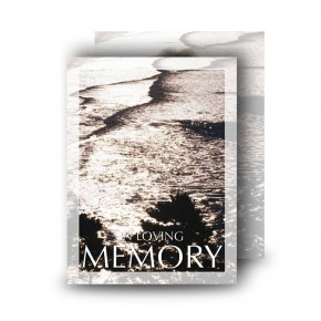 Silver Reflection Co Antrim Standard Memorial Card