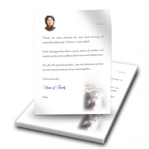 Cataract Co Wicklow Thank You Letter