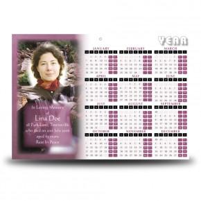Cataract Co Wicklow Calendar Single Page