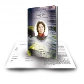 Sea Stones Co Down Funeral Book
