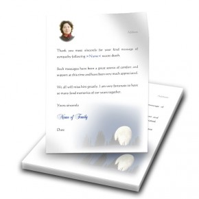 Full Moon Thank You Letter