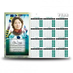 Football Calendar Single Page