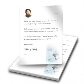 Skating Thank You Letter