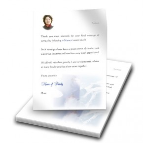 Skiing Klosters Switzerland Thank You Letter