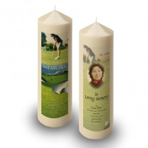 Golf Green Candle