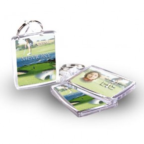 Golf Green Keyring