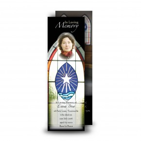 Stained Glass Window Bookmarker
