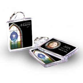 Stained Glass Window Keyring
