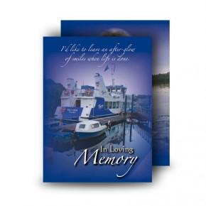 Donegal Bay Standard Memorial Card