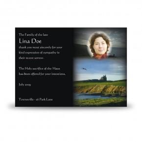 Mullaghmore Co Sligo Acknowledgement Card