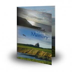 Mullaghmore Co Sligo Folded Memorial Card