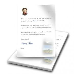 Mullaghmore Co Sligo Thank You Letter